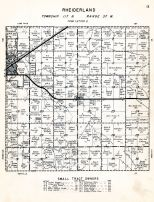 Rheiderland Township, Chippewa County 1955